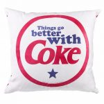Things Go Better With Coke Red Cushion