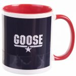 Top Gun Goose Mug with Red Handle
