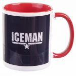 Top Gun Iceman Mug with Red Handle