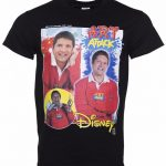 Black Neil Buchanan Art Attack T-Shirt from Homage Tees