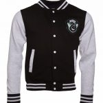 Unisex Harry Potter Slytherin House Varsity Jacket