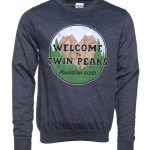 Navy Heather Welcome to Twin Peaks Sweater