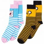 Women's 2pk Adventure Time Socks