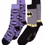 Women's 2pk Batman Logo Socks