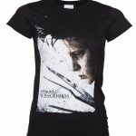 Women's Black Edward Scissorhands Reflection T-Shirt