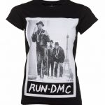 Women's Black Run DMC Paris Photo T-Shirt