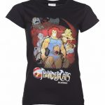 Women's Black Thundercats Group T-Shirt