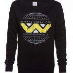 Women's Black Weyland Yutani Corp Logo Sweater