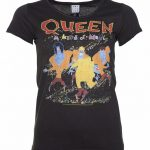 Women's Charcoal Queen A Kind Of Magic T-Shirt from Amplified