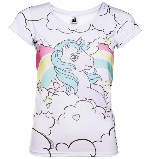 059c5bc1 If you love the original ponies of the eighties, you will appreciate this  fabulous official My Little Pony Mr Gugu & Miss Go x TruffleShuffle tee  featuring ...