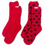 Women's Coca-Cola Dotty 2pk Cosy Socks
