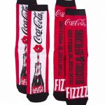 Women's Coca-Cola It's The Real Thing 2pk Socks