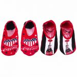 Women's Coca-Cola It's The Real Thing Stars And Stripes 2pk Trainer Liners