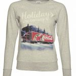 Women's Coca-Cola Truck Holidays Are Coming Jumper