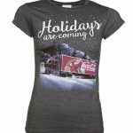 Women's Coca-Cola Truck Holidays Are Coming T-Shirt