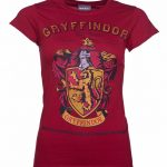 Women's Heather Red Harry Potter Gryffindor Team Quidditch T-Shirt