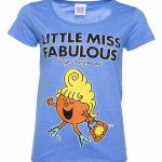 Women's Little Miss Fabulous Heather Royal Scoop Neck T-Shirt