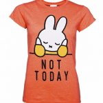 Women's Miffy Not Today Slogan T-Shirt