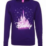 Women's Purple Disney Castle Sweater