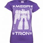 Women's Transformers Megatron Blueprint T-Shirt
