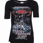 Women's Transformers Retro Movie Poster Scoop Neck T-Shirt