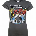 Women's Transformers Roll Out T-Shirt