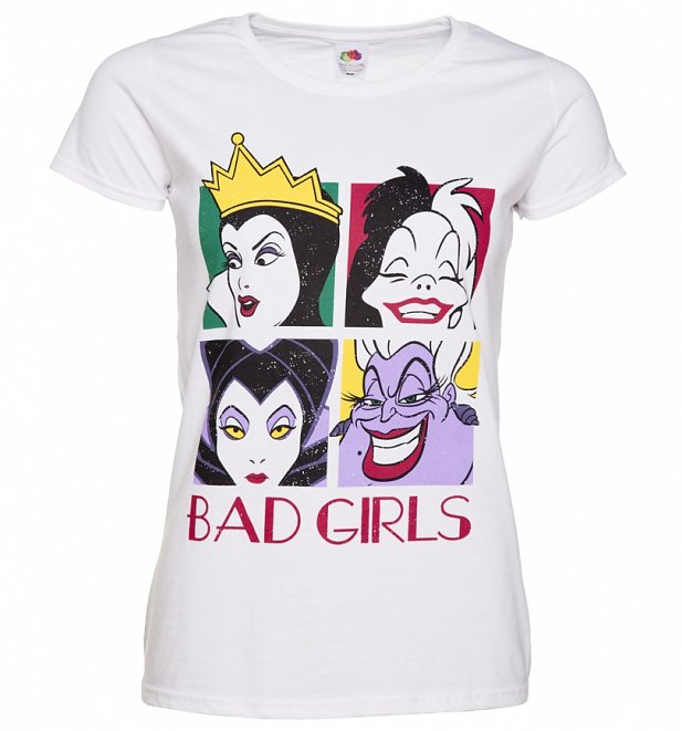 8b8e9bb93 If youre drawn to the bad gals, this awesome Disney Villains t-shirt is a  must have. Featuring all your fave Disney Divas…youll be the talk of the  castle.