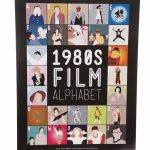 "1980's Film Alphabet 11"" x 14"" Art Print"