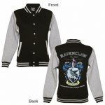 Women's Black Harry Potter Ravenclaw Team Quidditch Varsity Jacket
