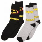 Women's DC Comics Batman 2pk Socks