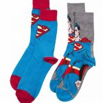 Men's 2pk DC Comics Superman Socks