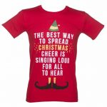 Men's Elf Christmas Cheer T-Shirt