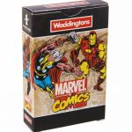 Retro Marvel Comics Playing Cards