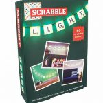 Scrabble String Lights