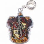 Silver Plated Harry Potter Gryffindor Crest Slider Charm