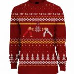 Street Fighter Knitted Fair Isle Jumper