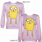 Unisex Lilac Adventure Time Jake The Dog Sweater from Mr Gugu & Miss Go