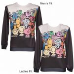 Unisex Mr Men Character Scene Jumper