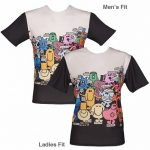 Unisex Mr Men Character Scene T-Shirt